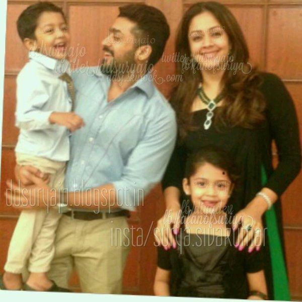 Suriya Jyothika Diya Dev Family Pic - Rare/Unseen - Dev ...
