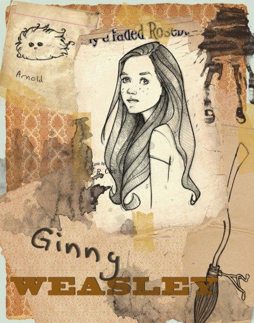 Ginny Weasley !