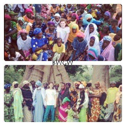 Oxfam Senegal Trip + Shakespeare's Daughter.