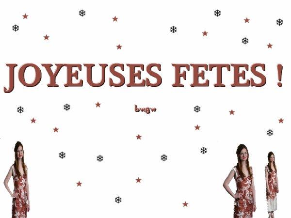 JOYEUX FETES !