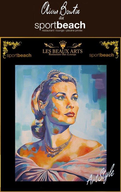 Vernissage Exposition Peinture, artiste Olivier Boutin