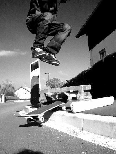 le skate, impossible de s'en passer