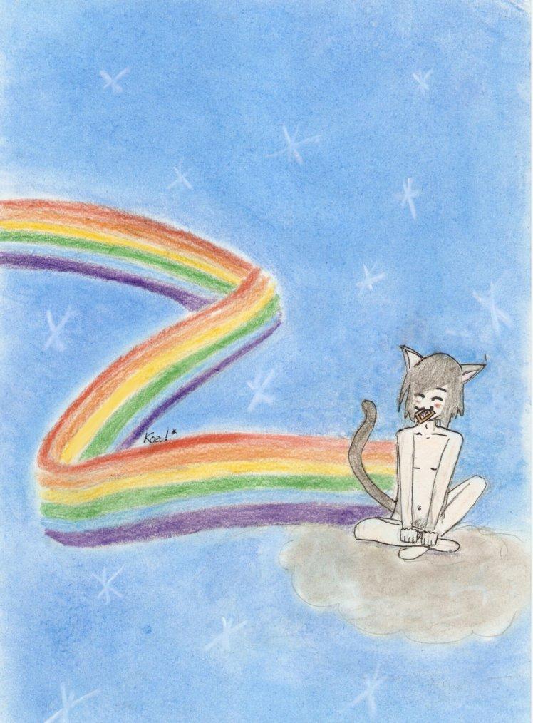 Nyan Cat à ma façon.! :)