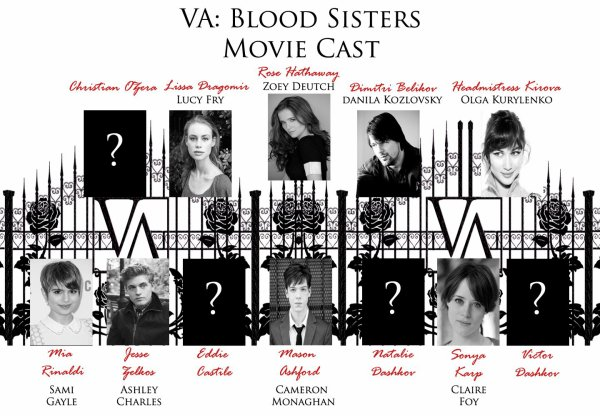 Vampire academy , le casting