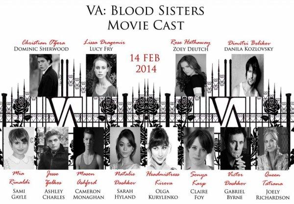 Nouveauté divergent et vampire academy