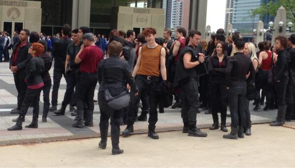 Divergent les photos des factions