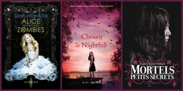 Top 10 des livres dans ma Wish list( pour le moment) Ça change tout le temps ...