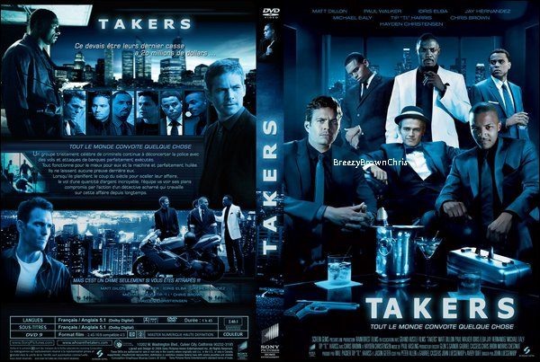 ARTICLE SPECIAL : Chris Brown dans Takers.