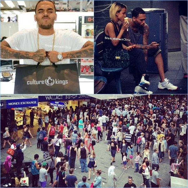 Mise à jour avec de nouvelles photos de Chris faisant du shopping avec Karrueche + Instagram + Chris a partagé une vidéo.