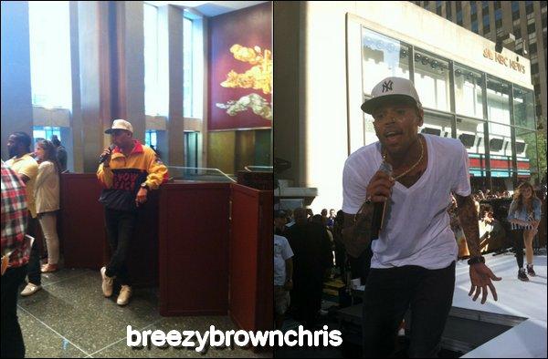 Chris au Today Show à New-York