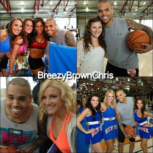 Chrsi faisant du Basket + Instagram + 8 juin