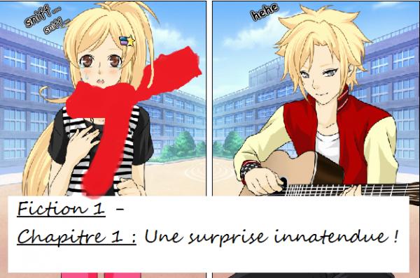 Fiction 1 - Chapitre 5 - La surprise innattednue !