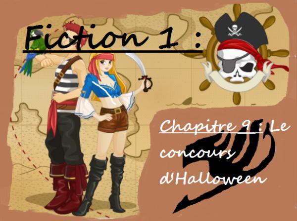 Fiction 1 - Chapitre 9 - Le concours d'Halloween