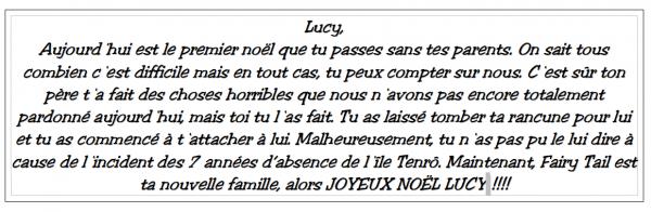 Fiction 3 - Chapitre 5 - Noël