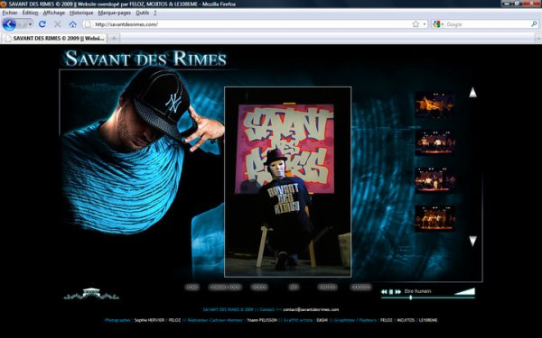 SAVANT DES RIMES - Website