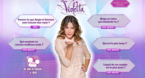 disney channel violetta - Jeux De Violetta Et Leon