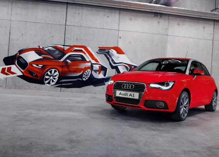 THE AUDI A1 IN GAUTENG