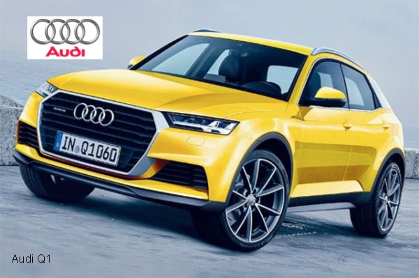 The Audi Q1 2015
