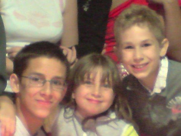 Septembre 2008 ; On ne s'oublie jamais ce souvenir avec vous, Andy & Christian! :O