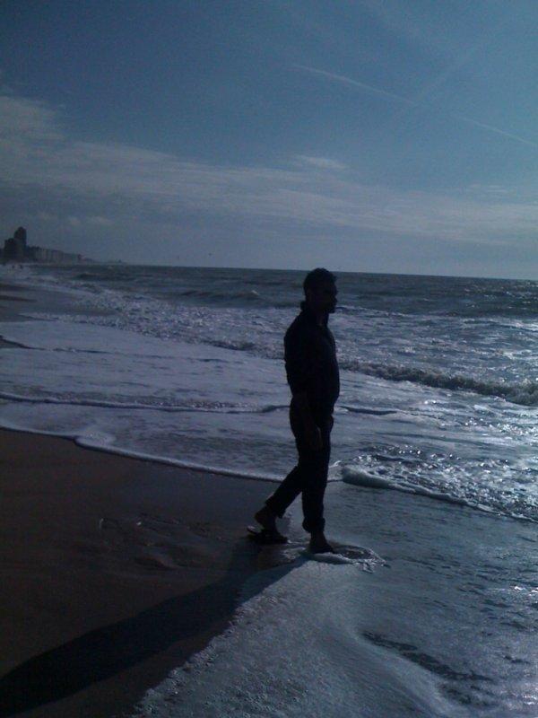 ostend beach....
