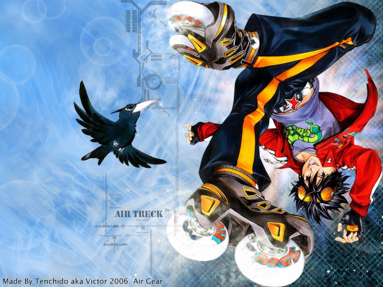 Air Gear en vf et vostfr