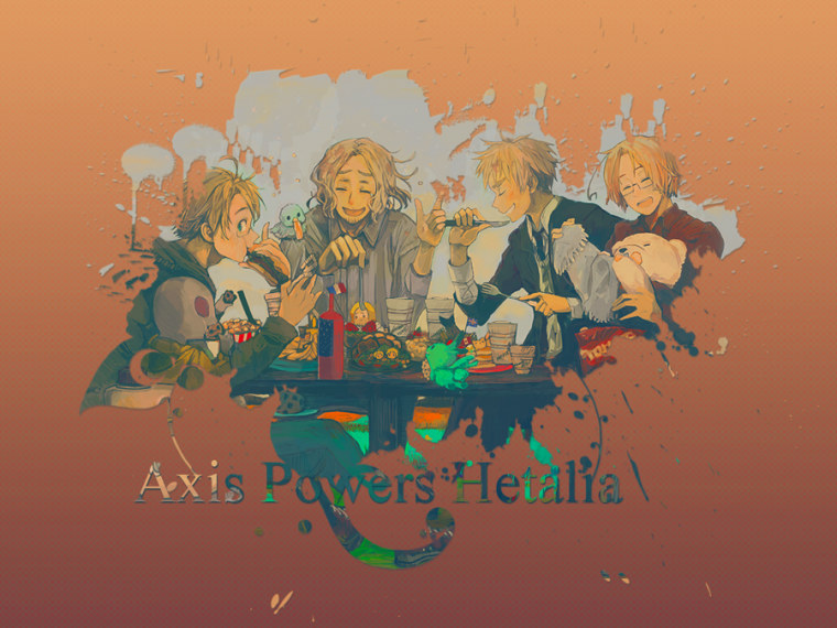 Axis Power Hetalia en vostfr