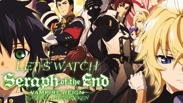 seraph of the end  en vostfr