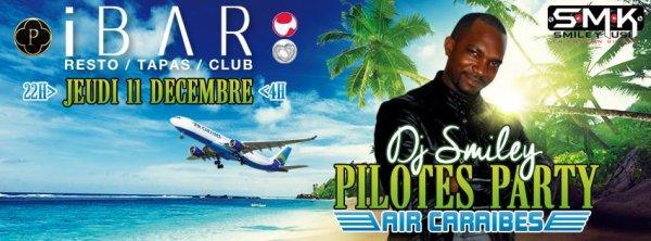 Soirée caribéenne jeudi 11 décembre 2014 à IBAR Toulouse