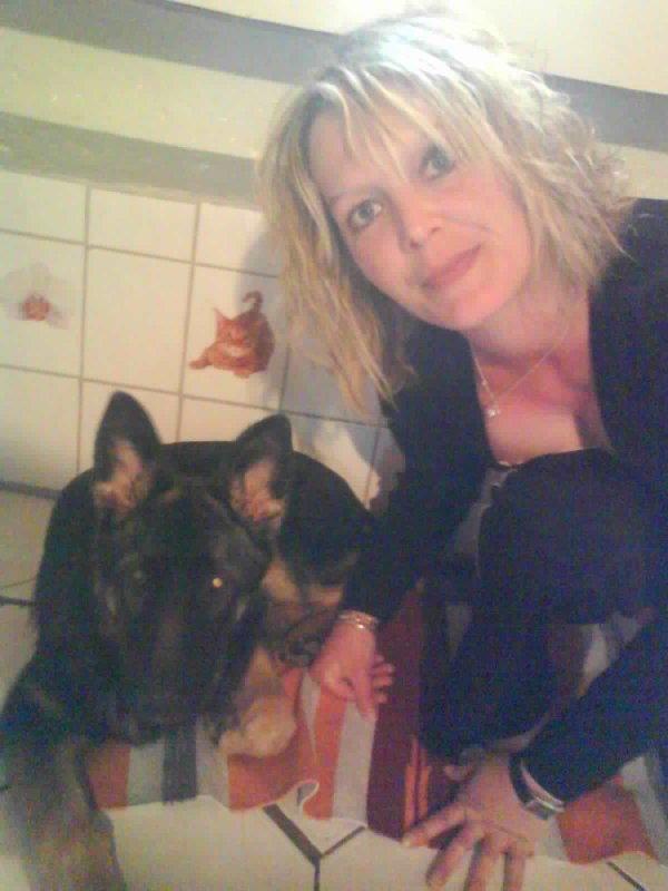 Mon petit bébé Diablesse mon berger allemand que j'aime tellement !!! ♥