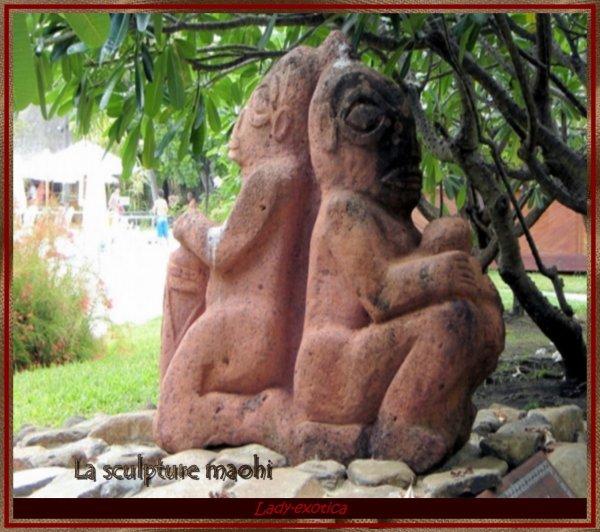La sculpture maohi