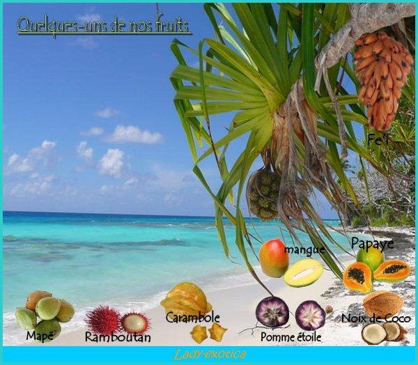 *Les Fruits de Tahiti*