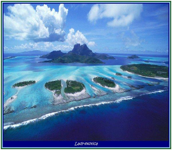 Les îles un patrimoine naturel unique au monde
