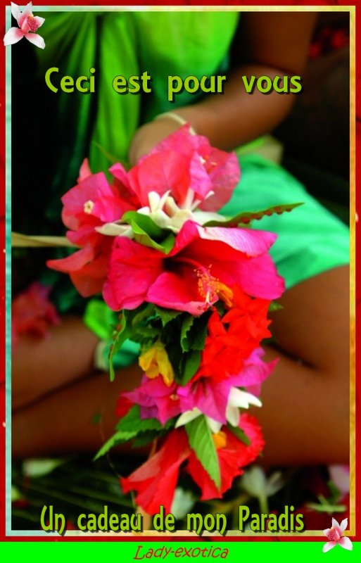 Les Couronnes de fleurs de Tahiti