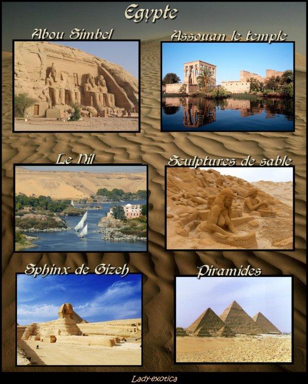 Souvenirs D'Egypte