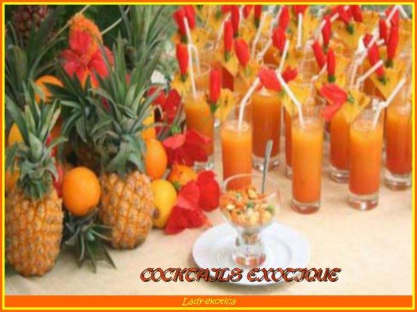 échantillon de Cocktails sans alcool polynesien
