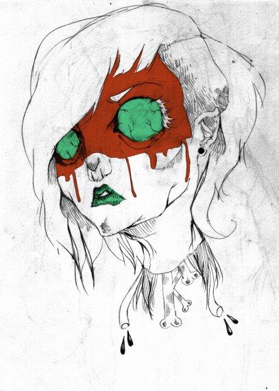 Tes lèvres sont barbouillées de culpabilités, laisse moi les embrasser.