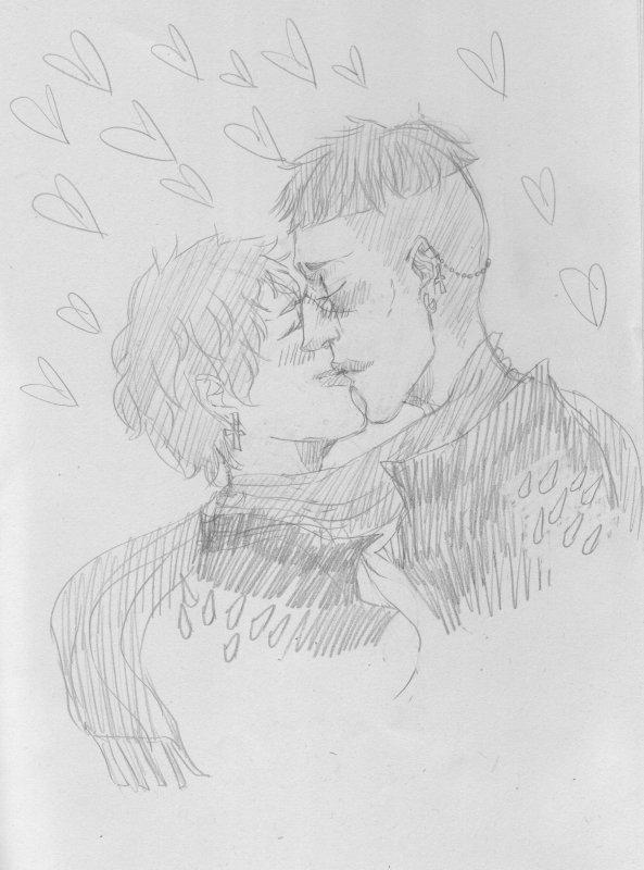 Marathon des dessins de st valentin OFF & I AM ALIVE