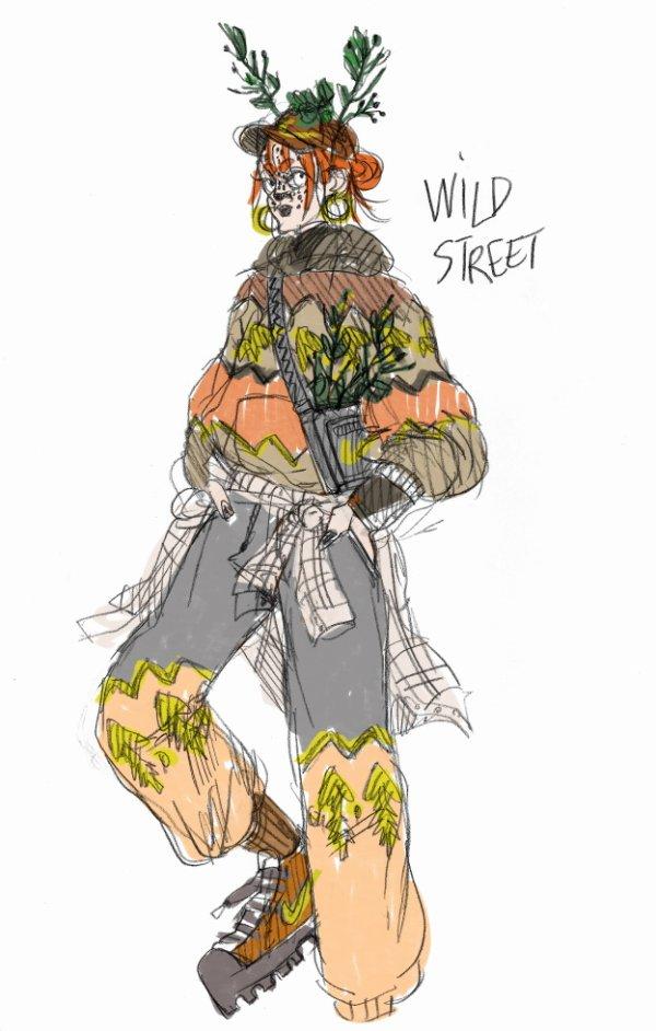 le wild street d'agathon
