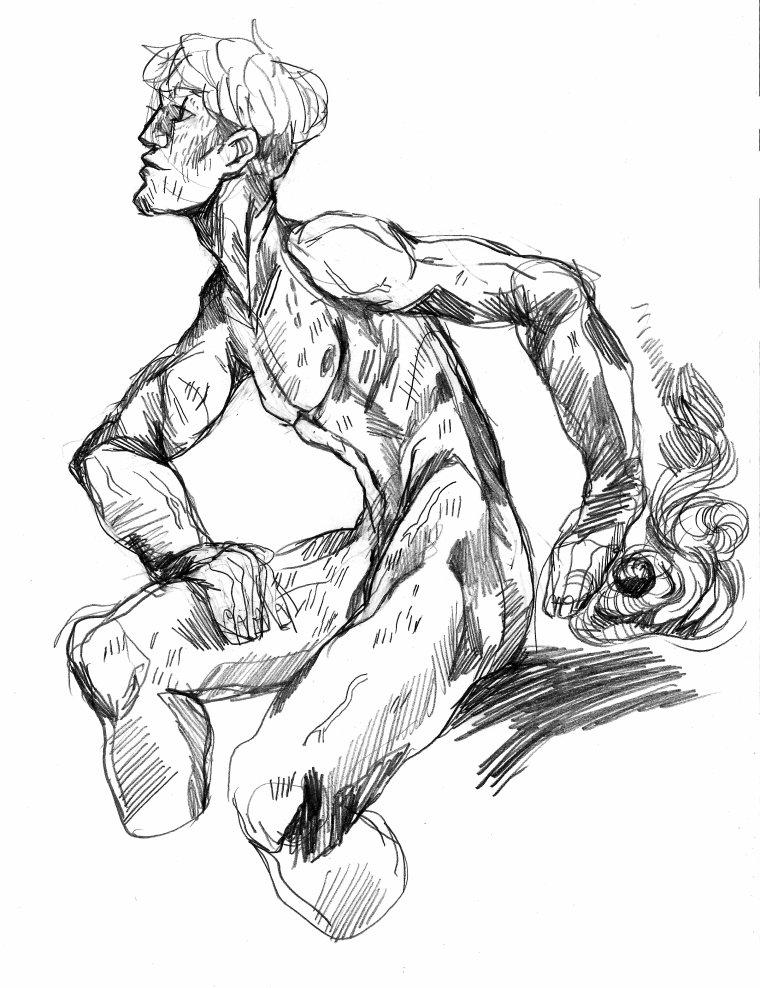 Ou comment je n'aurais pas du commencer à feuilleter MORPHO / anatomie artistique / de Michel Lauricella