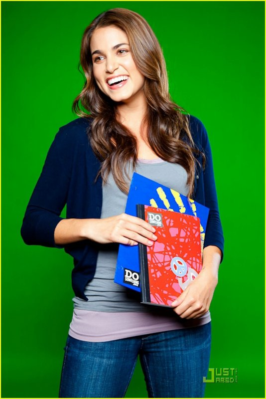 Nikki Reed, for the 3rd Annual National Staples/Do Something 101 School Supply Drive