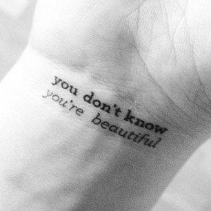 """""""Ne sais tu pas , tu es magnifique """""""
