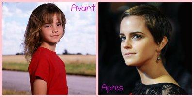 Emma Watson - 2001 / 2011 ♥