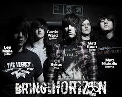 Bring Me The Horizon, Un groupe que j'admire beaucoup !!