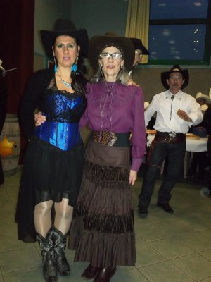 Bal country de Lallaing le 23  mars 2013