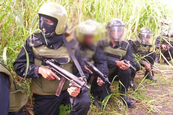 Secours du Monde : Groupe d'Intervention de la Police Mauricienne