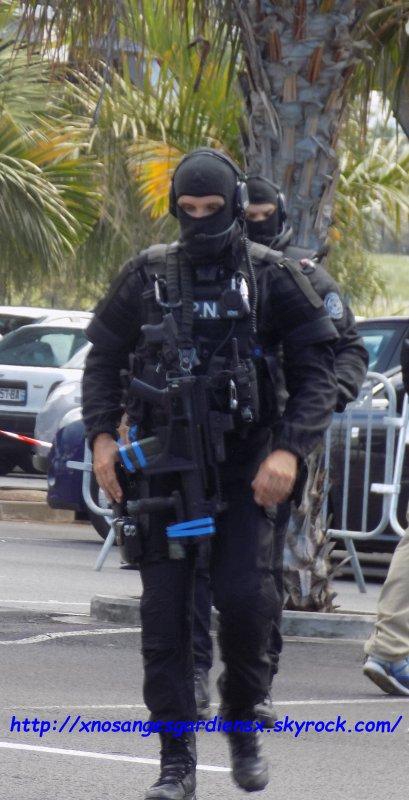 La Réunion: Opération anti-terroriste à haut risque