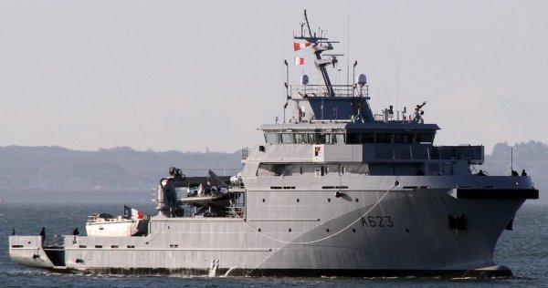 Le Champlain rejoint son nouveau port base
