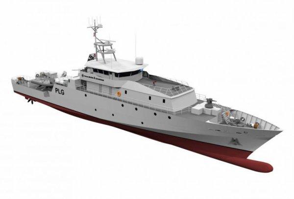 La Guyane: nouveaux navires de guerre