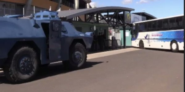 Simulation d'attentat à la Réunion