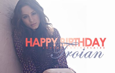 Happy Birthday Troian Bellisario !! @SleepintheGardn